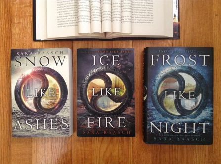 I read this trilogy as borrowed books from the library, but when I saw the whole series on @bookoutlet I just had to get them!  The Snow Like Ashes series by @sara_raasch is definitely on my top fantasy series list!  The final paragraphs of Frost Like Night made me CRY!  That's a good sign!  What book has made you cry?  #youngadultbooks #summerreading #bookstagram #sararaasch #snowlikeashes #icelikefire #frostlikenight #reader #books #bookbuying #bookoutlethaul #epicreads