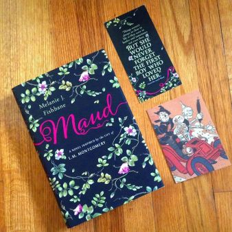 Thank you so much @melanie_fishbane !! This is such a beautiful book inside and out!  I can finally add it to my CANLit shelf!  I hope you all consider reading this, it is truly a gem!  #youngadult #maud #lmmontgomery #melaniejfishbane #bookstagram #bookworm #bookaddict #canlit