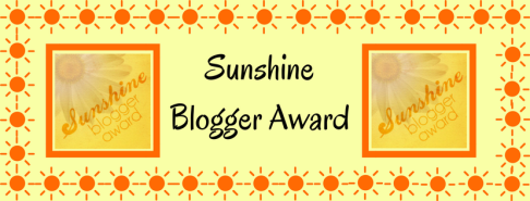 Sunshine Blogger Award!