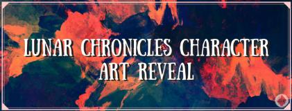 Lunar Chronicles Character Art Reveal