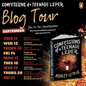 Confessions of a Teenage Leper blog tour