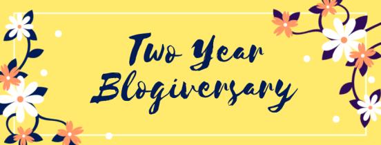 Two Year Blogaversary