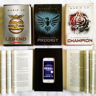 Who else lost it when the Rebel news came out? My excitement for this book is incredible. Like... I have been waiting for this for years and we are finally going to get it. I still can't believe how lucky we are and how amazing @marieluthewriter is for making our dreams come true! Have you read the Legend trilogy yet?  #Legend #Prodidy #Champion #Rebel #bookstagram #reader #books #scifi #bookstagram #yabooks #books #bookishcanadians