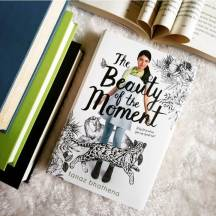 THE BEAUTY OF THE MOMENT by @bhathenatanaz 🌟 🌟 🌟 🌟 🌟  What is your favourite contemporary novel?  I'd have to say that as of last week, The Beauty of the Moment really has taken top spot for me in contemporaries. I know I don't read them often, but this one is definitely worthwhile!  Today is my Blog Tour stop for this amazing book so please check out my full review! (Link in bio)  And don't forget to follow along the rest of the tour! @penguinteenca  #thebeautyofthemoment #tanazbhathena #bookstagram #reader #books #ya #contemporarybooks #canlit #yabooks #youngadultbooks #blogtour